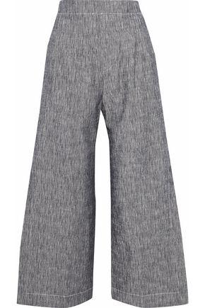DEREK LAM Cotton-chambray culottes