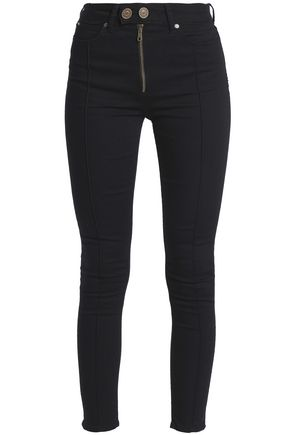 SANDRO High-rise skinny jeans