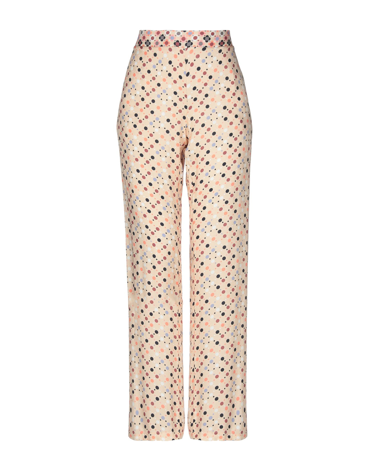 TWIN-SET LINGERIE Повседневные брюки chiffon sheer cami lingerie set