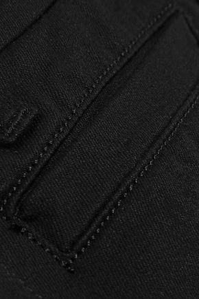 M.I.H JEANS Marrakesh Sneaker Split mid-rise kick-flare jeans