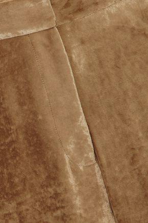STELLA McCARTNEY Velvet tapered pants
