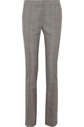 STELLA McCARTNEY Prince of Wales checked wool slim-leg pants