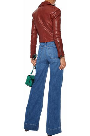 ALICE + OLIVIA Gorgeous high-rise flared jeans