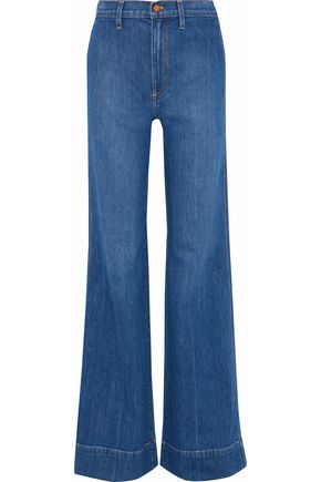 AO.LA by ALICE + OLIVIA Gorgeous high-rise flared jeans