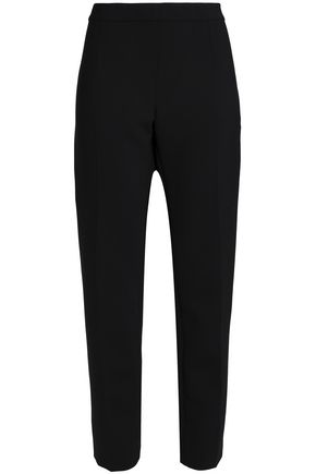 CAROLINA HERRERA Wool-blend straight-leg pants
