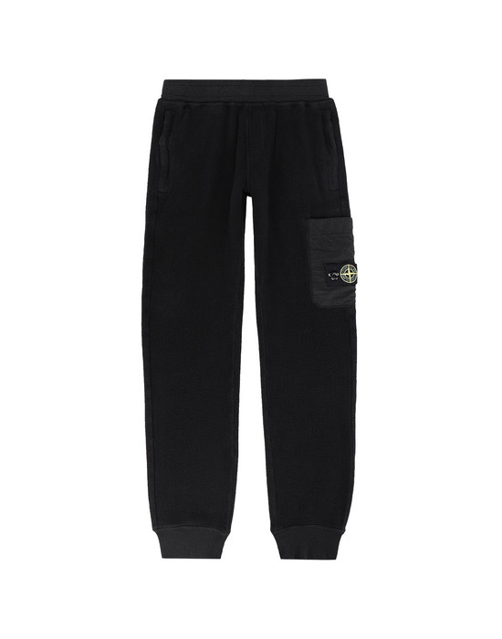STONE ISLAND JUNIOR Fleece Trousers 61744