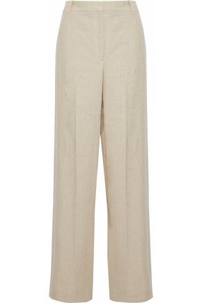 THEORY Linen wide-leg pants