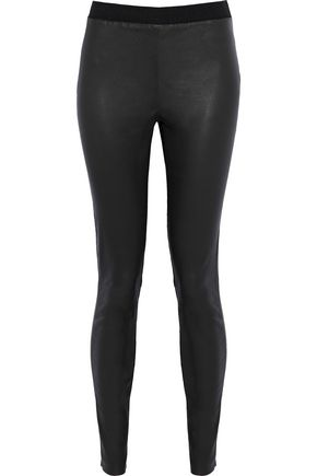 MUUBAA Stretch-leather leggings
