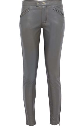 MUUBAA Leather skinny pants