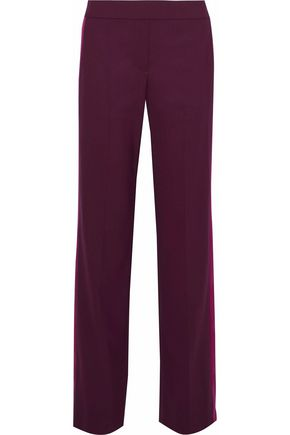 THEORY Stretch-crepe straight-leg pants