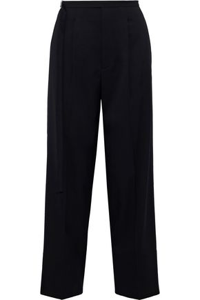 HELMUT LANG Wool-twill straight-leg pants