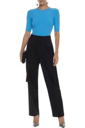 22127ce8aeb HELMUT LANG Wool-twill straight-leg pants