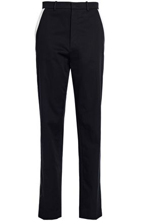 JOSEPH Cotton-twill tapered pants