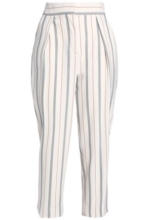 SEE BY CHLOÉ Stretch-crepe tapered pants