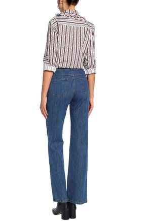 SEE BY CHLOÉ High-rise bootcut jeans