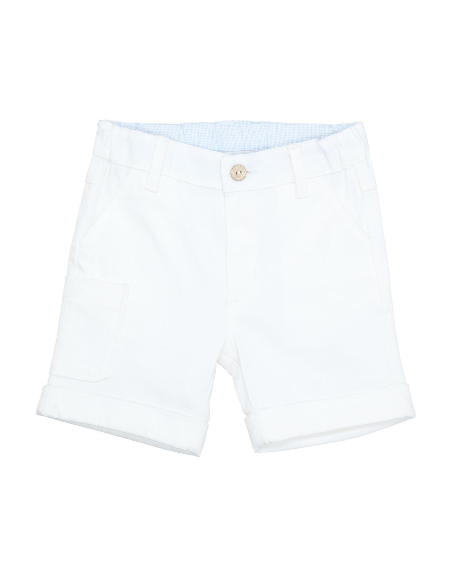 """Per Te"""" Kids' Bermudas In White"""