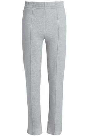 JOSEPH French cotton-terry slim-leg pants
