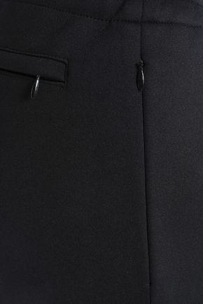 JOSEPH Striped neoprene slim-leg pants