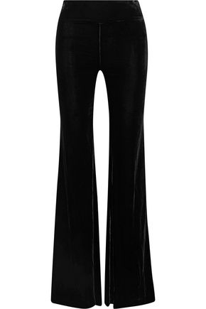 MAGGIE MARILYN Rule Breaker velvet flared pants