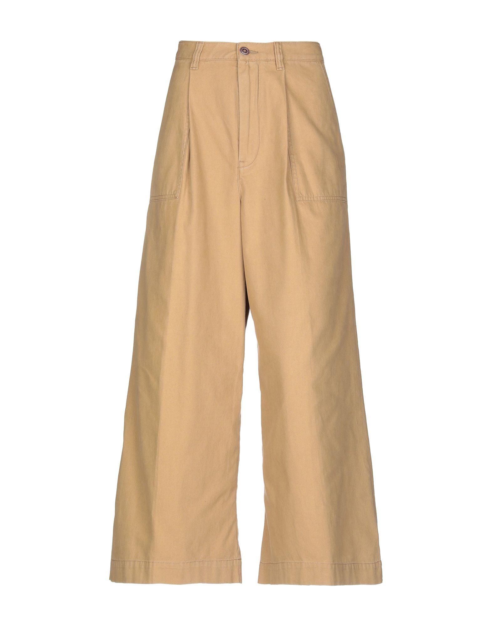 《送料無料》PENCE レディース パンツ キャメル 42 コットン 100%