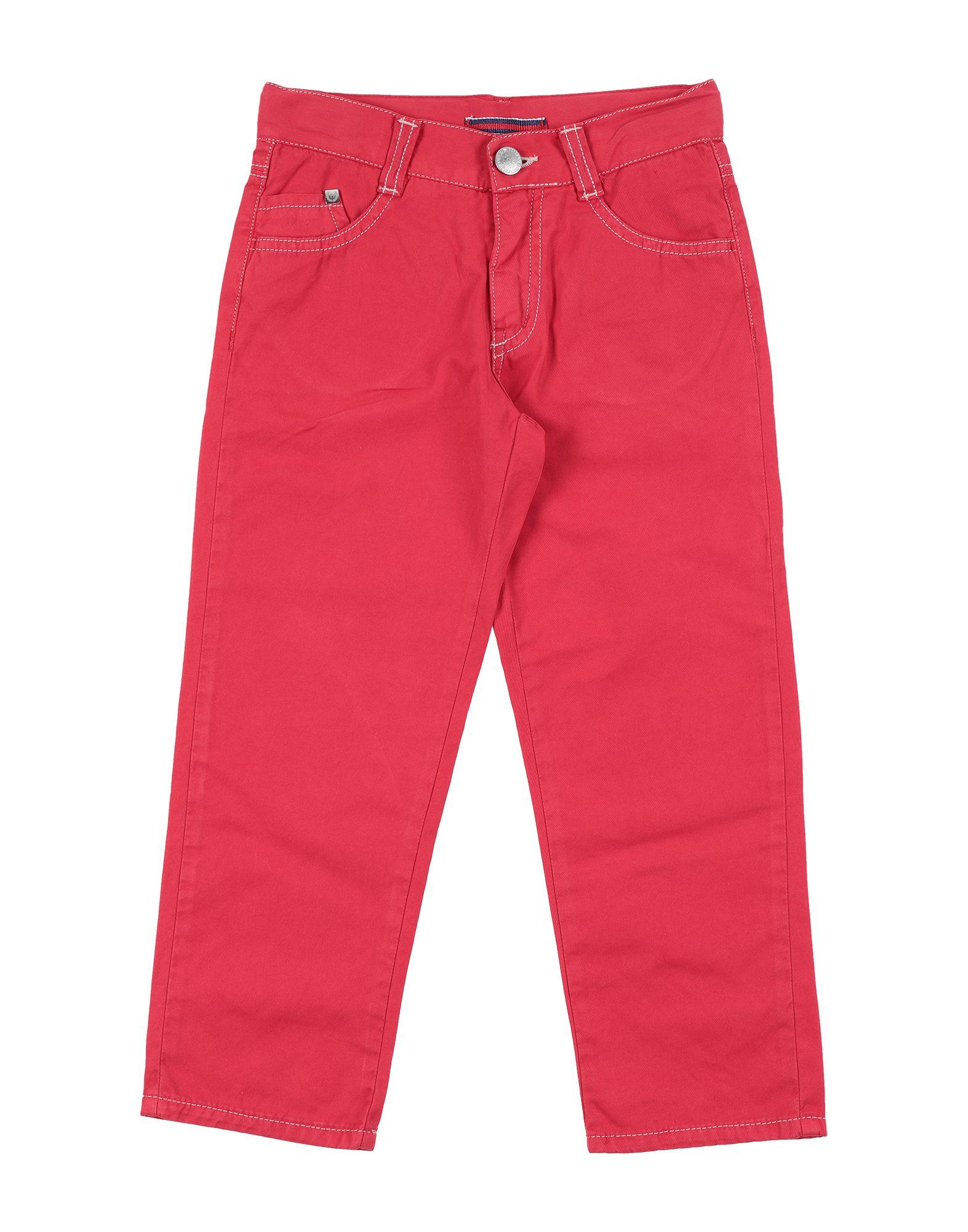 Barnum Kids' Casual Pants In Red
