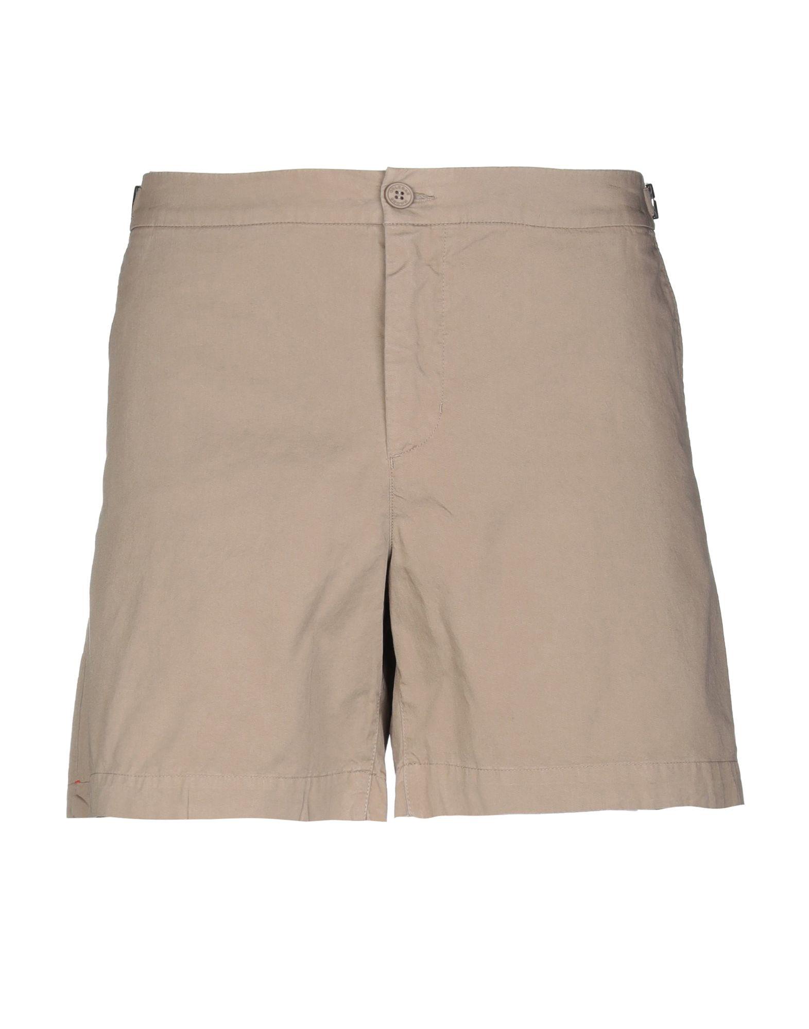 ORLEBAR BROWN Повседневные шорты классические мужские шорты insight exiled brown slub
