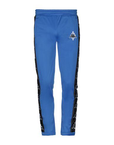 Фото - Повседневные брюки от MARCELO BURLON x KAPPA синего цвета