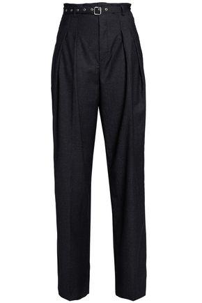 IRO Pinstriped wool wide-leg pants