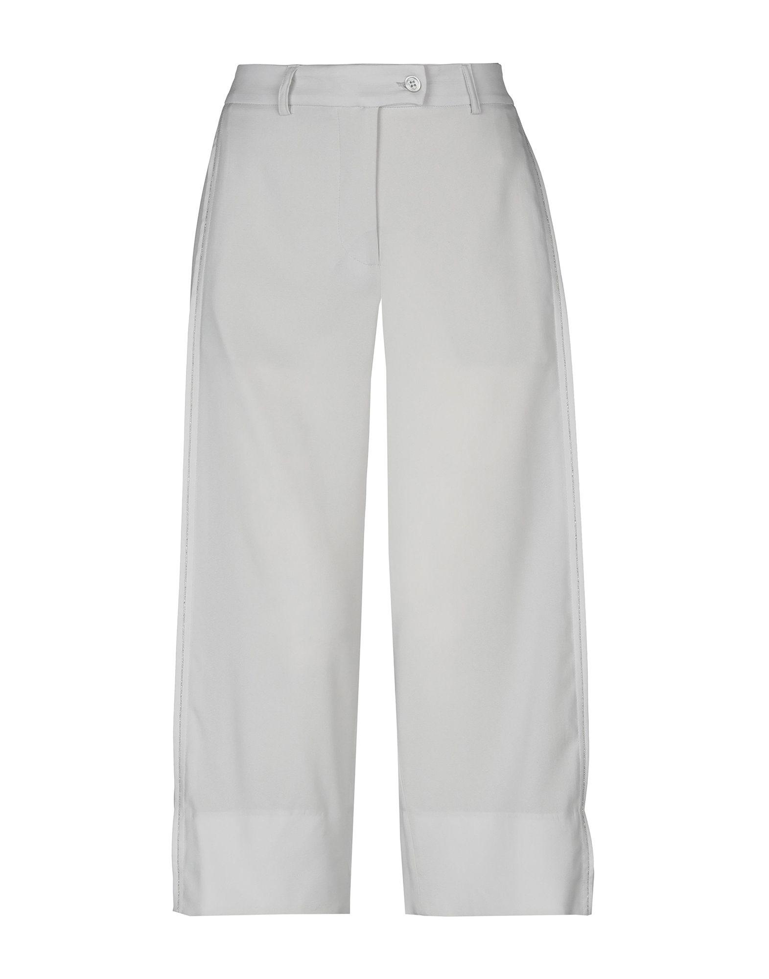 CRUCIANI Брюки-капри брюки капри из хлопка и модала