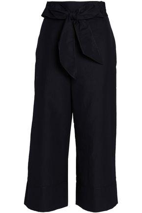 KATE SPADE New York Linen-blend culottes
