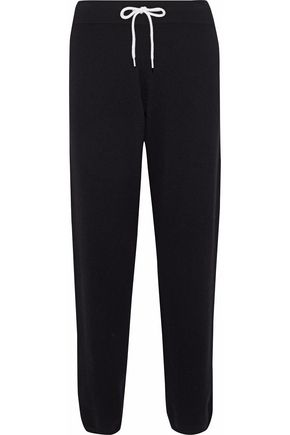 MONROW Cashmere-blend track pants