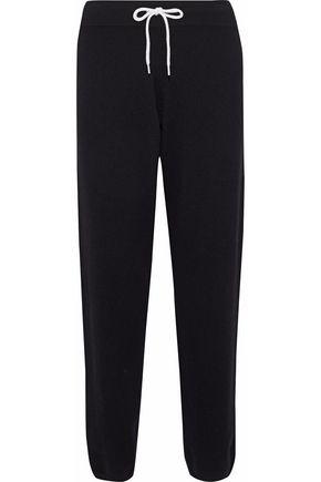 MONROW Cashmere-blend track pants