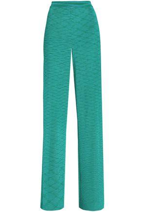 MISSONI Knitted wide-leg pants