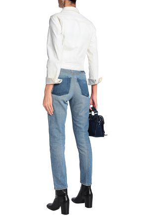 RE/DONE with LEVI'S High-rise straight-leg jeans
