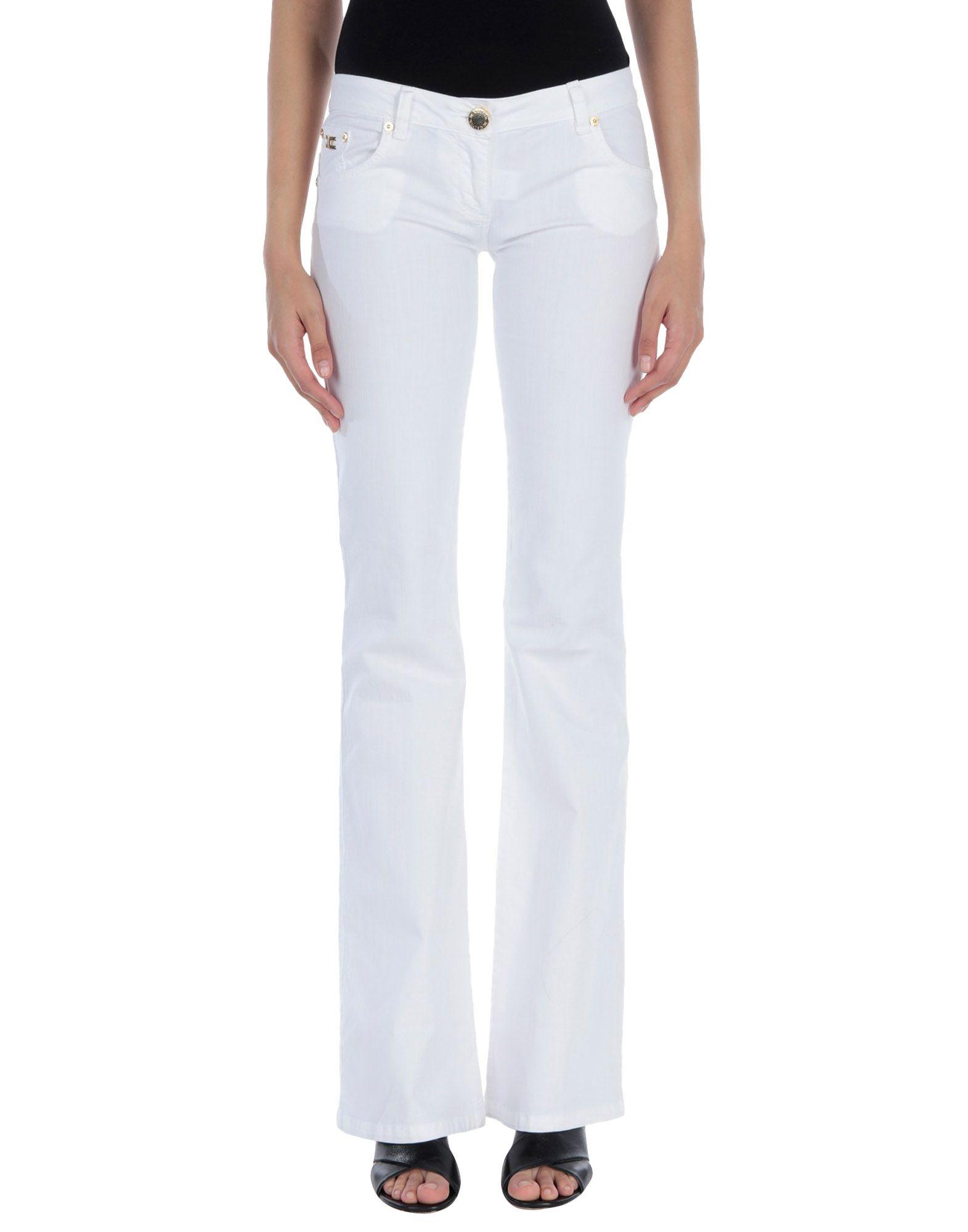 цены на ELISABETTA FRANCHI JEANS for CELYN B. Повседневные брюки  в интернет-магазинах