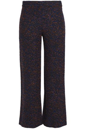 MISSONI Bouclé-knit wide-leg pants