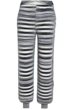 MISSONI Cashmere and silk-blend tapered pants