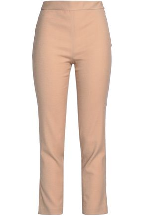 MISSONI Wool-blend flannel slim-leg pants