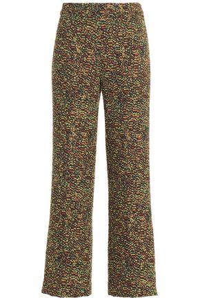 MISSONI Bouclé-knit wide-leg pants