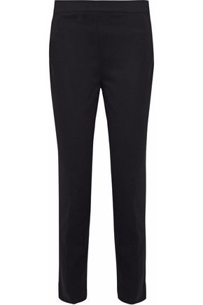 MISSONI Wool-blend twill straight-leg pants