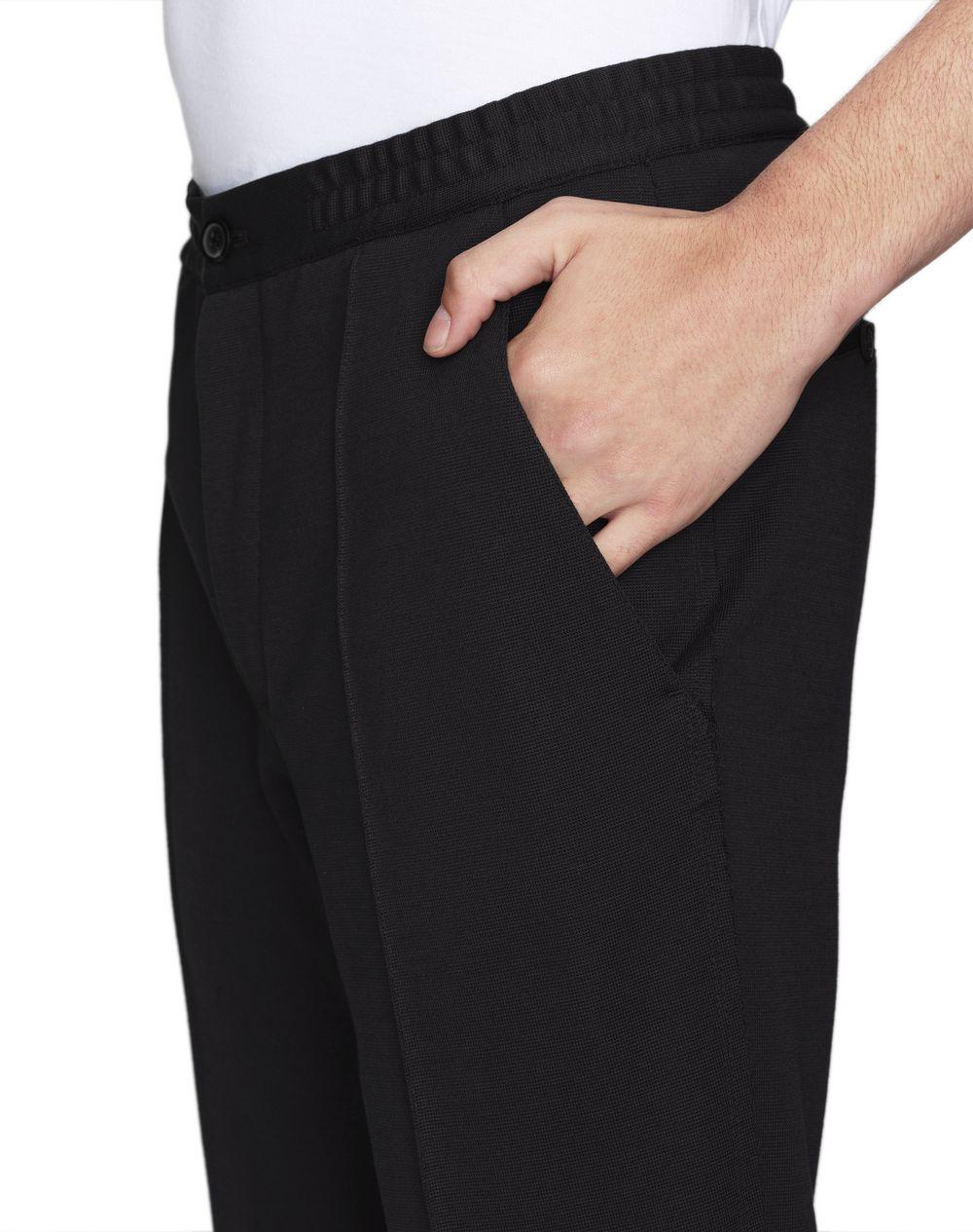 STRAIGHT-LEG MILANO KNIT-EFFECT PANTS - Lanvin