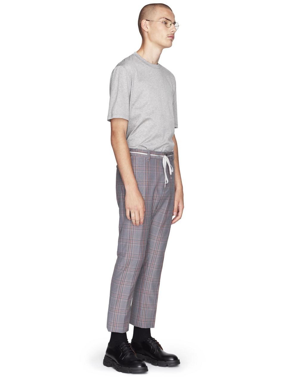 FITTED DRAWSTRING TROUSERS - Lanvin