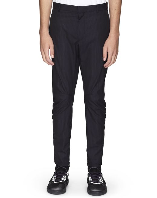 BIKER TROUSERS WITH ROUNDED SEAMING - Lanvin