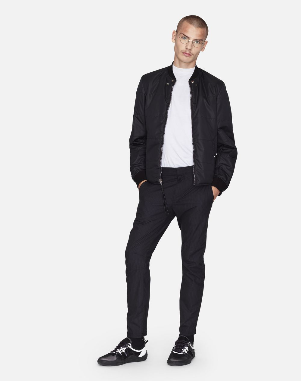 BIKER PANTS WITH ROUNDED SEAMING - Lanvin