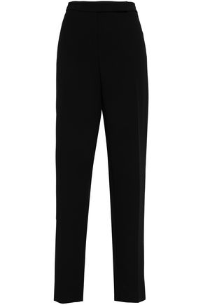 GIORGIO ARMANI Wool-blend straight-leg pants