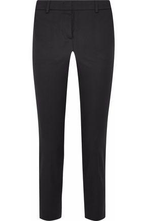 EMILIO PUCCI Stretch-cotton twill slim-leg pants