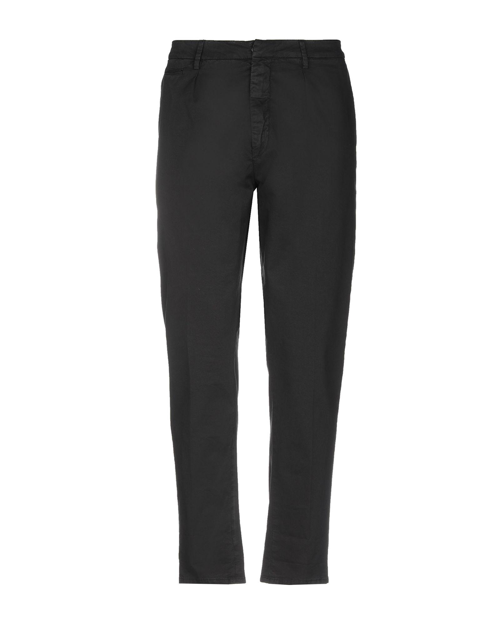《セール開催中》DONDUP メンズ パンツ ブラック 34 コットン 96% / ポリウレタン 4%
