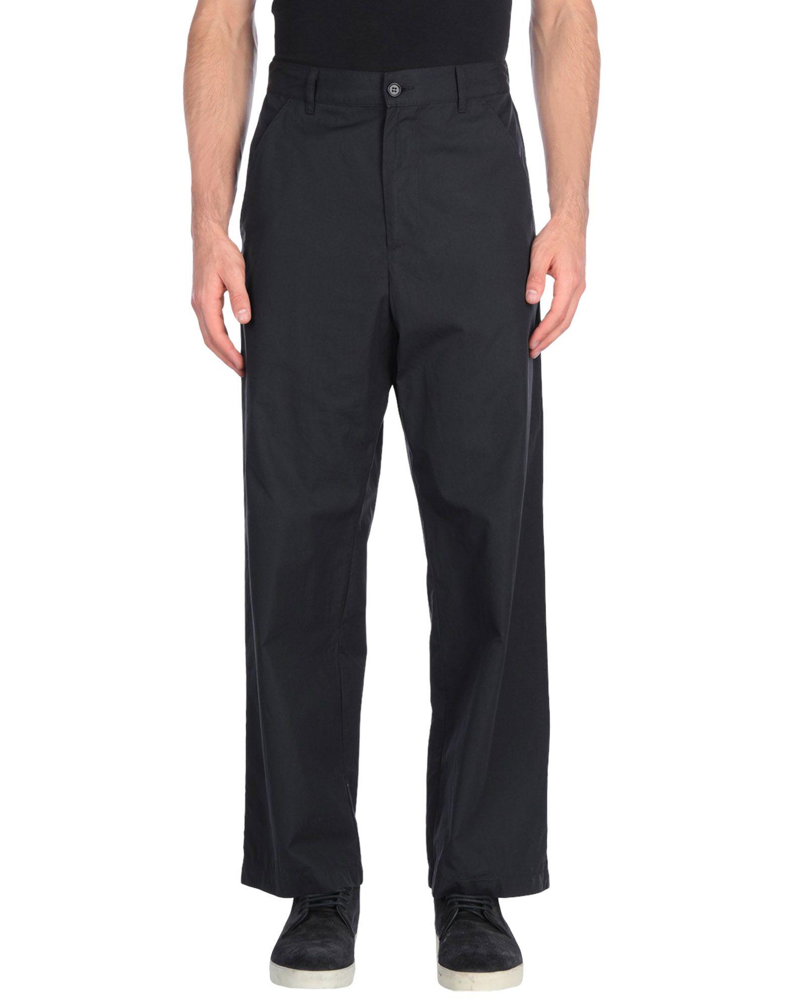 《セール開催中》BARENA メンズ パンツ ブラック 42 コットン 100%