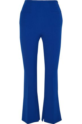 ROLAND MOURET Goswell crepe kick-flare pants