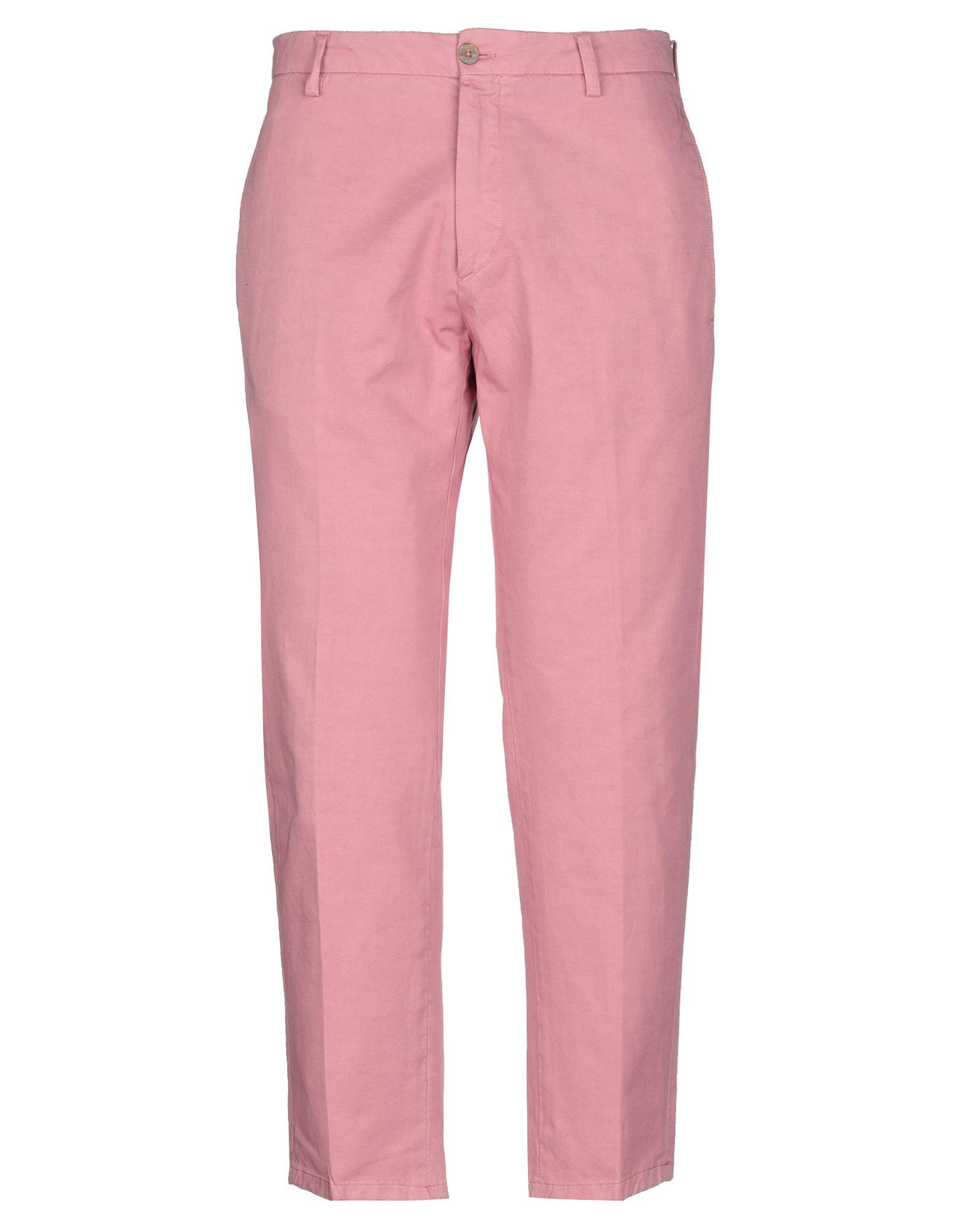 《セール開催中》BE ABLE メンズ パンツ ピンク 30 コットン 100%